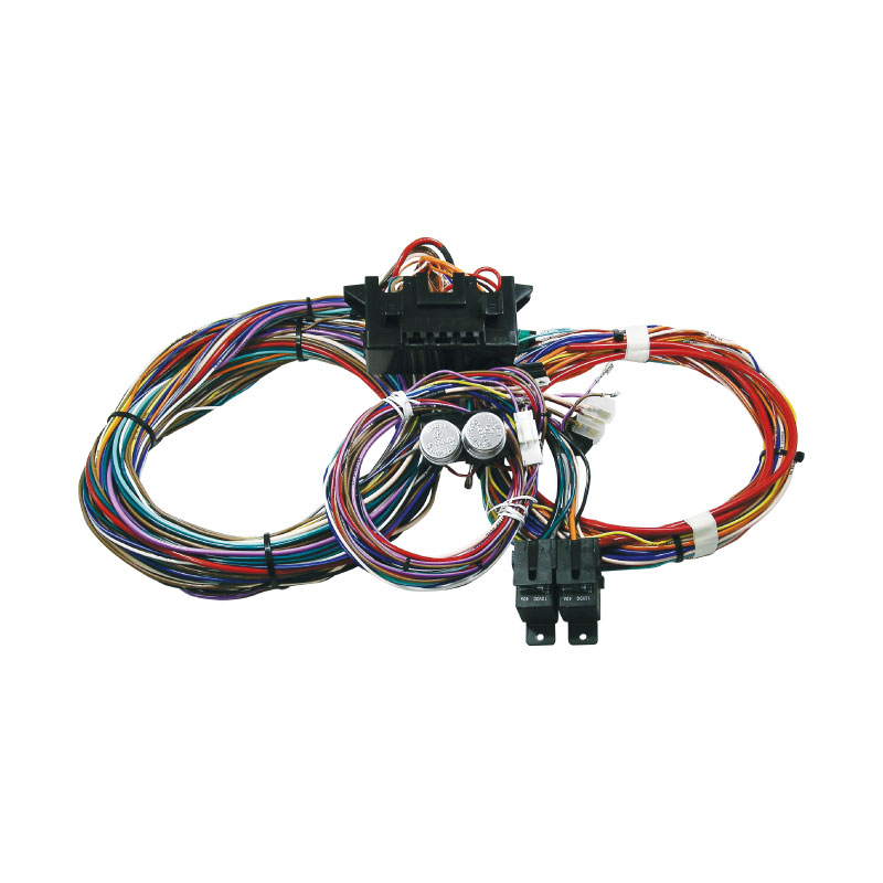 Australian Made Wiring Harness : Cal custom universal circuit wiring harness